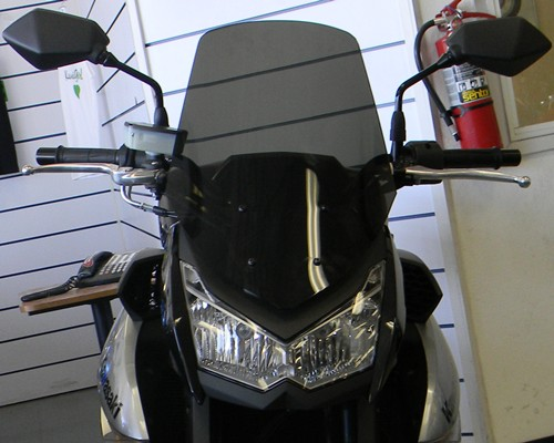 new calsci touring windshield for z1000 kawasaki z1000. Black Bedroom Furniture Sets. Home Design Ideas